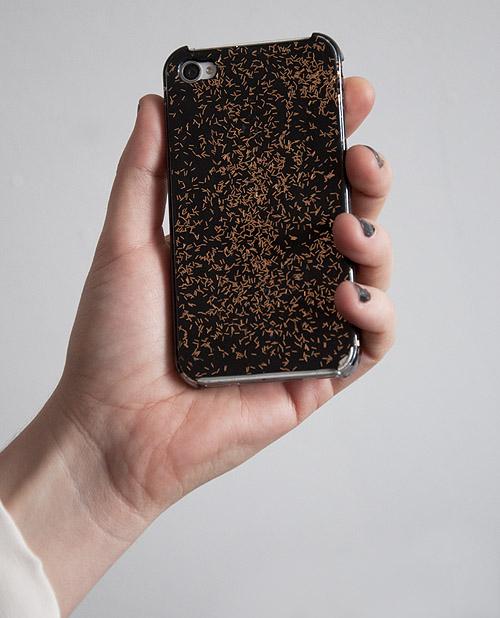 glitter iphonecase