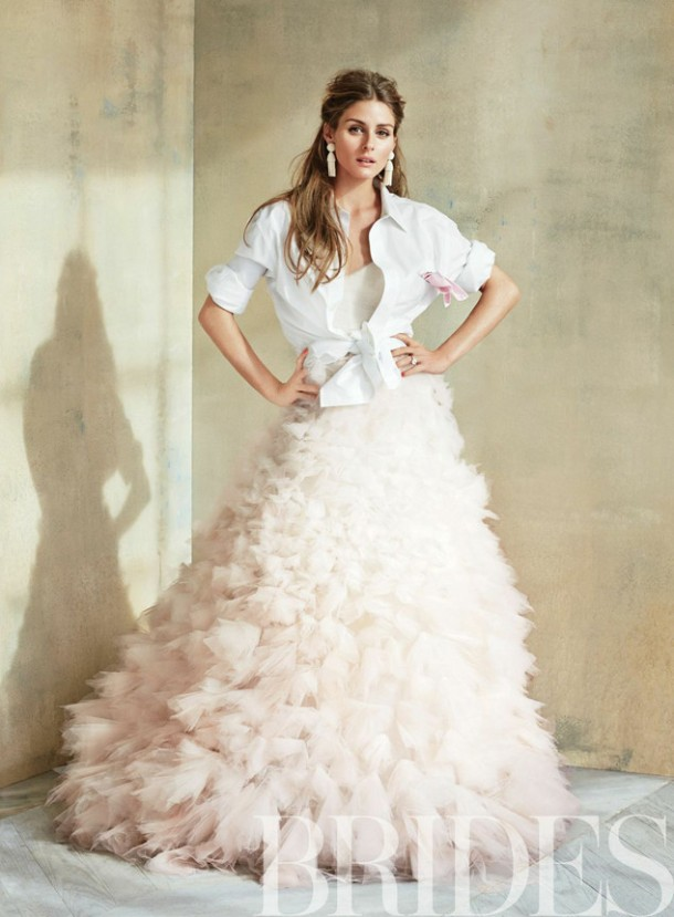 Project Fairytale: Olivia Palermo for Brides magazine