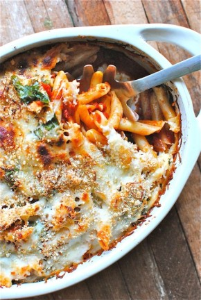 Wednesday's Specials: Baked Penne With Spinach and Tomatoes