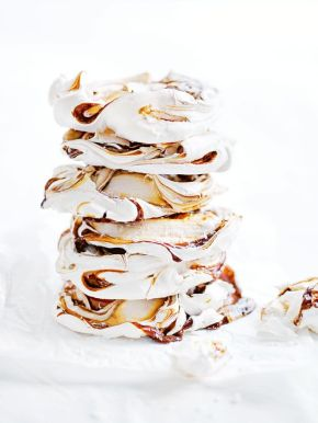Wednesday's Specials: Salted CaramelMeringues