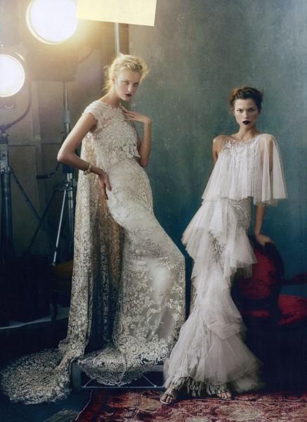 Project Fairytale: Magic Kingdom Vogue US Marchesa