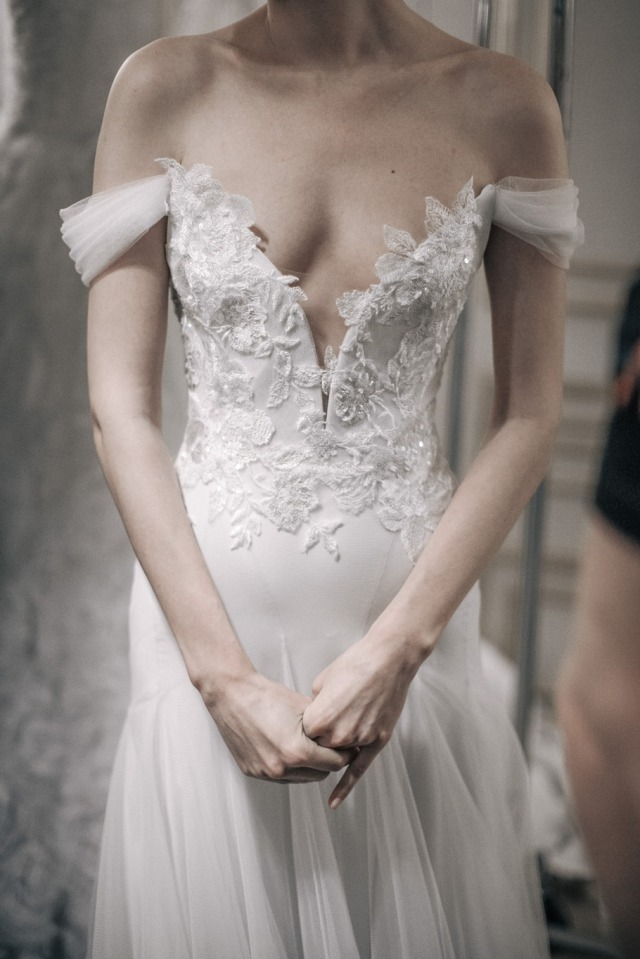 Project fairytale for Marchesa wedding dress price