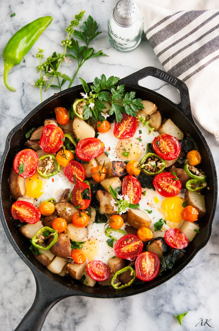 ... Specials: Skillet Eggs and Potatoes Breakfast | Project Fairytale